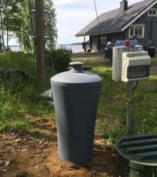 Aktiivihiilisuodatin jätevesipumppaamo